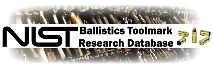 NIST Ballistics Toolmark Research Database